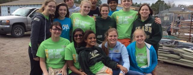 Junior Service Project-Habitat for Humanity