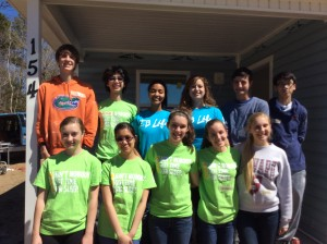 Jr. Class Habitat for Humanity Day 2 Group 3/8/14