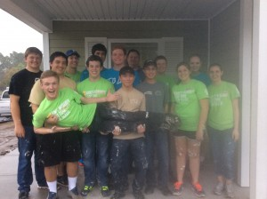 Habitat for Humanity Volunteer Day 3 Group