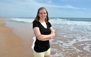 2014 Nease IB Grad Lily Dove, 19, of St. Augustine studies air pollution in Thailand with MIT