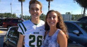 September 2016 Student Athletes of the Month - Michael Leisle and Ria Malhotra