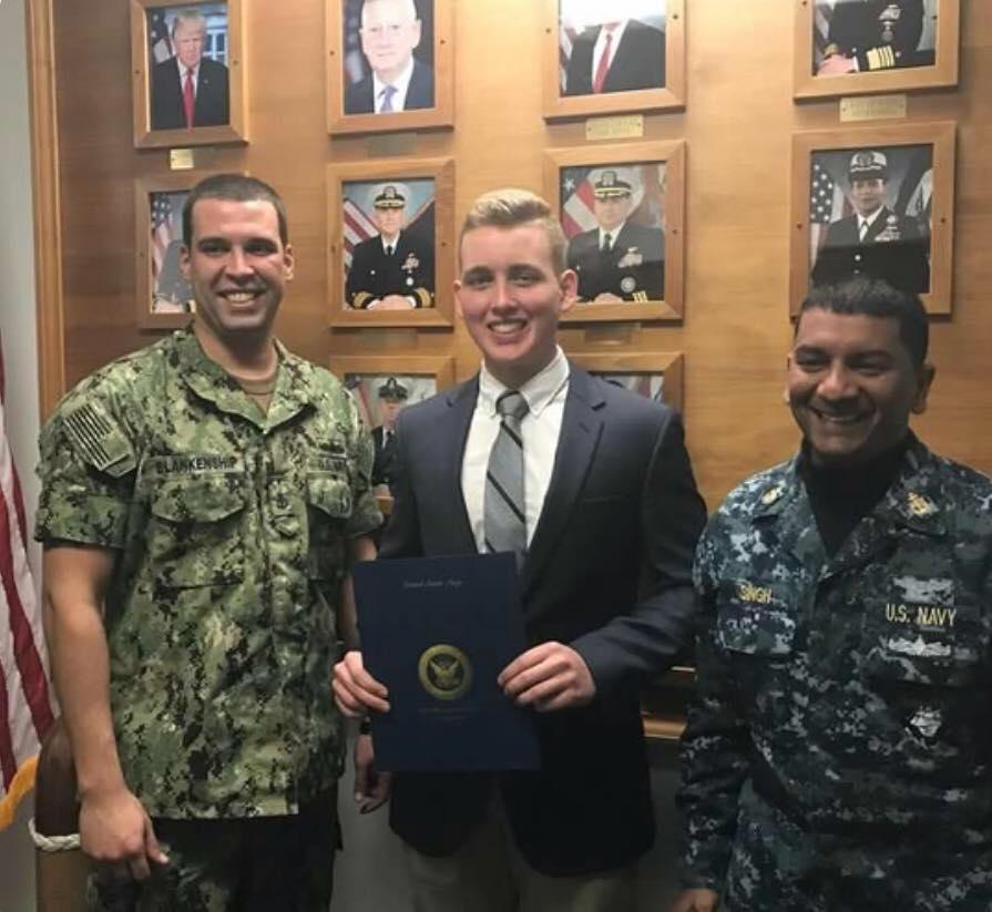 Scott Cummings Awarded Navy ROTC Scholarship
